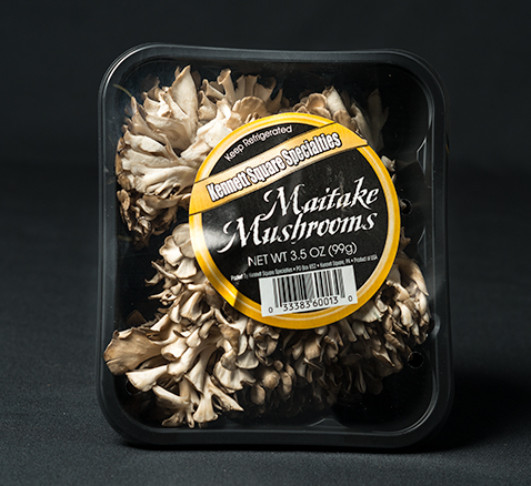 Packaged Maitake Mushrooms