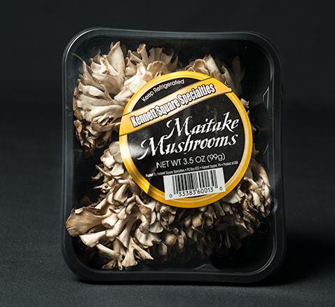Packaged Maitake Mushrooms
