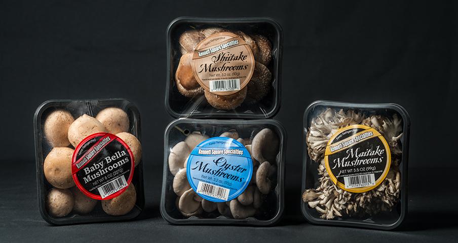 Variety Of Mushroom Packages